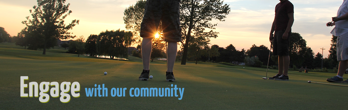 Engage with our community
