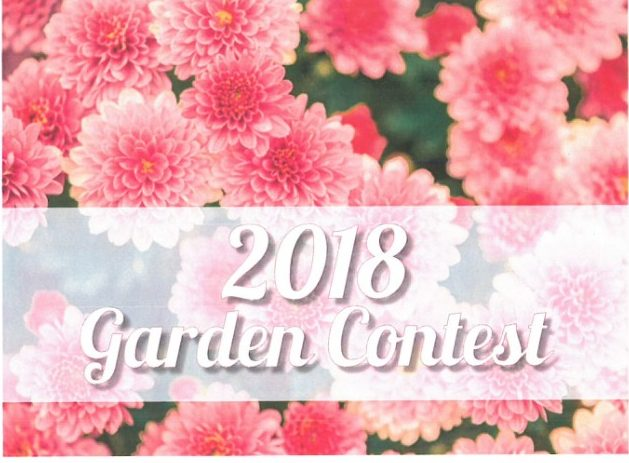 Congratulations to the Beautiful Gardens Contest Winners!