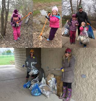 Thank You Earth Day Clean-Up Crew!