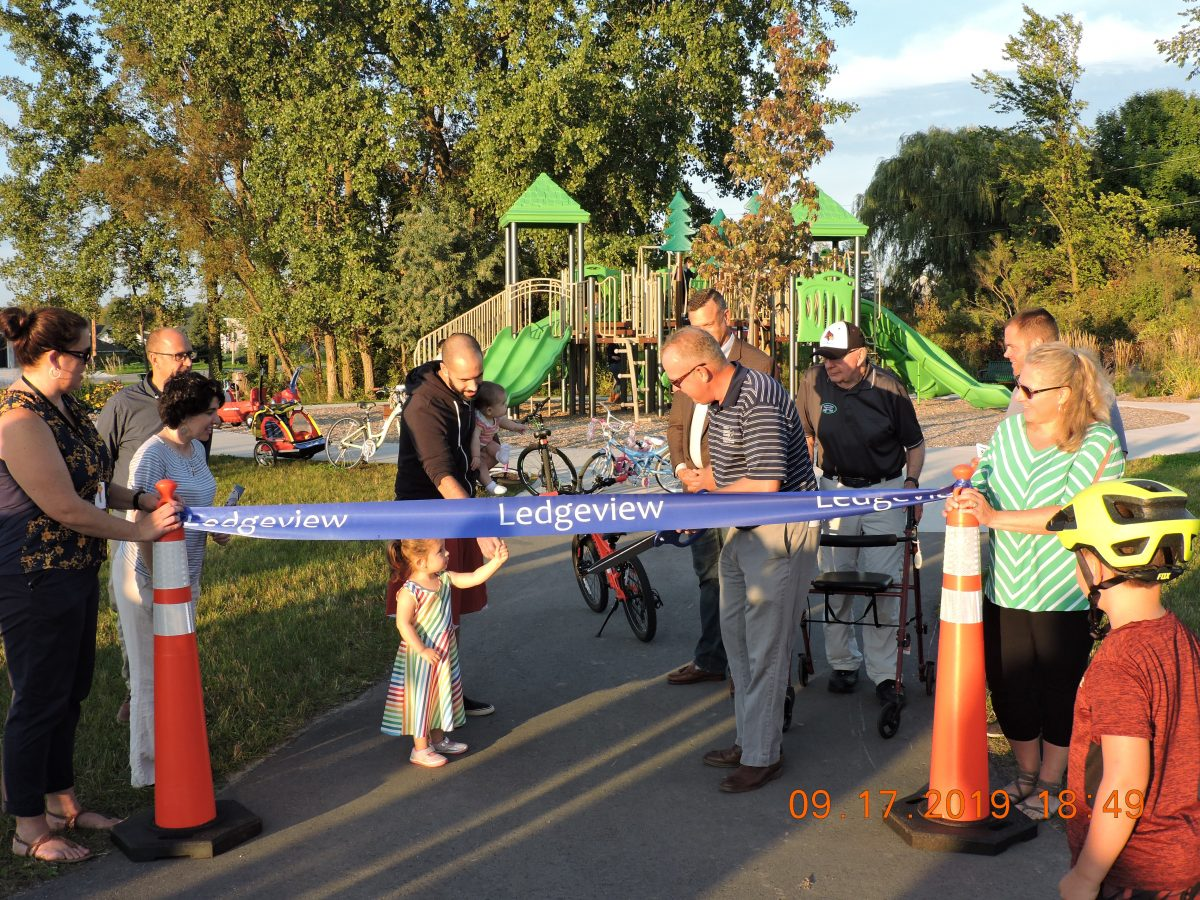Photo Gallery from Parks Ribbon Cuttings