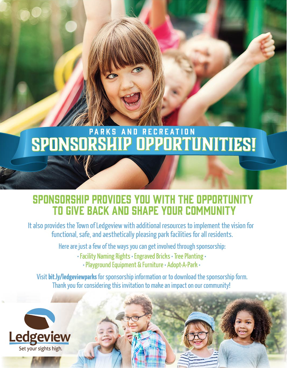 Parks & Recreation Sponsorship Opportunities