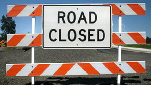 Bower Creek Rd at Dallas Lane Closed March 2nd