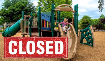 Playgrounds Remain Closed